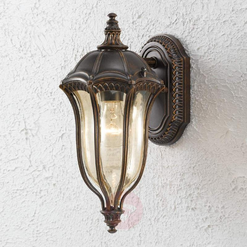 Baton Rouge Outside Wall Light Antique - Outdoor Wall Lights