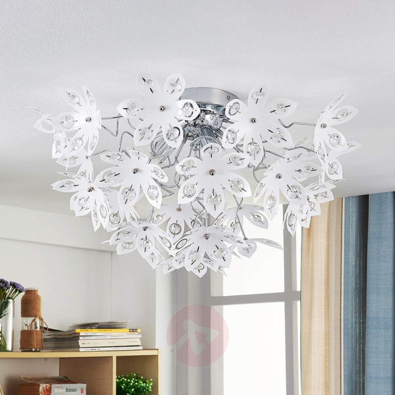 Floral ceiling lamp Pinga - indoor-lighting
