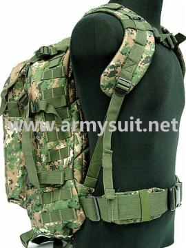 3 Day Molle Assault Backpack Bag Digital Camo Woodland - PNS-BP01