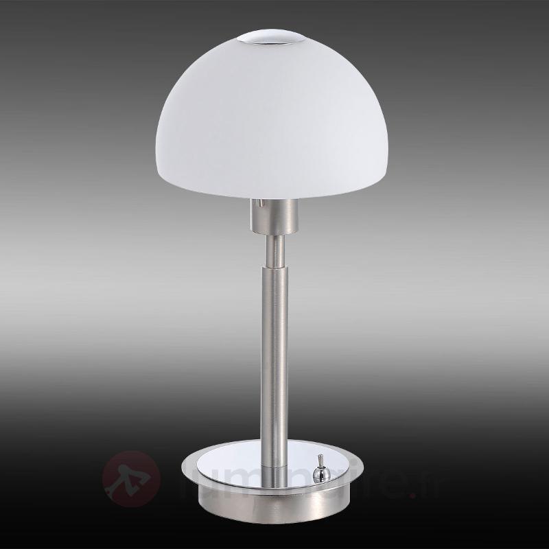 Lampe à poser LED Verona en acier - Lampes à poser LED