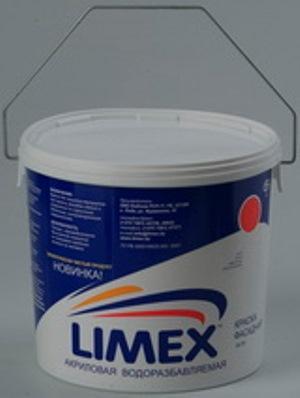 """Краска """"Лимэкс ВД-АК-101"""" фасадная и медицинских учреждений - моется дезинфецирующими и образивными средствами"""