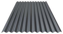 Trapezoidal and profiled sheets for roof and wall - Wall: 100-WA-01