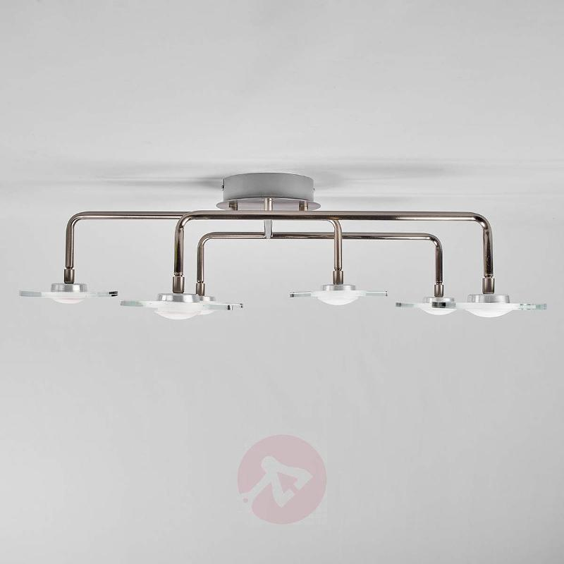 Extravagant 6-light kitchen ceiling light Tiam - Ceiling Lights ... & Extravagant 6-light kitchen ceiling light Tiam Ceiling Lights ...