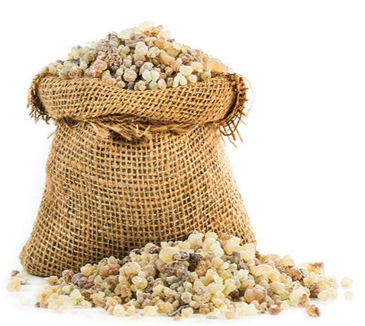 Frankincense (Olibanum) - Aromatic resin used in incense and perfumes