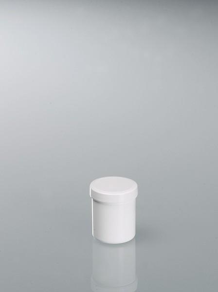 Tubes with screw cap - Plastic container, PP, white, sterilisable, laboratory equipment