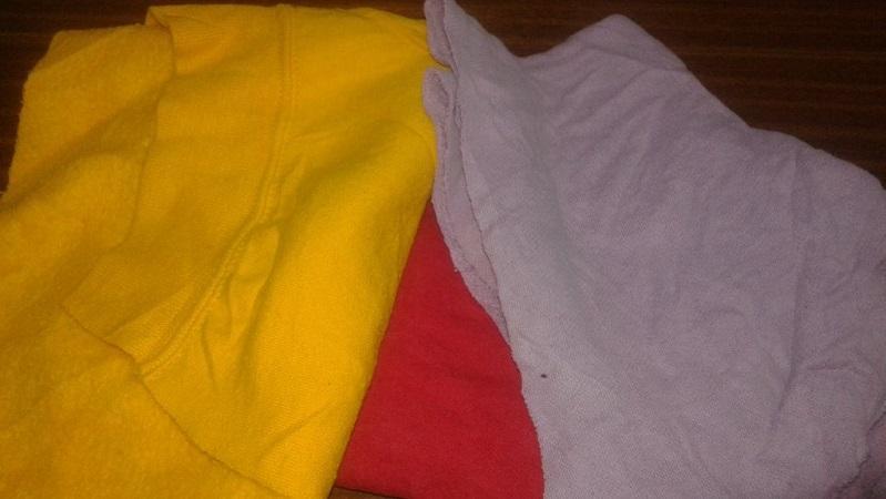 Trapos de limpieza - en blanco, crudo y multicolor