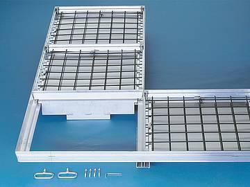 BVA-RA Aluminium Largely sealed covers - Largely sealed covers