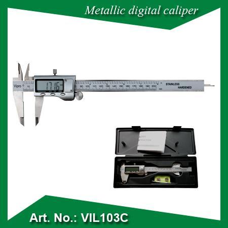 Metallic digital caliper II - MEASURING INSTRUMENTS