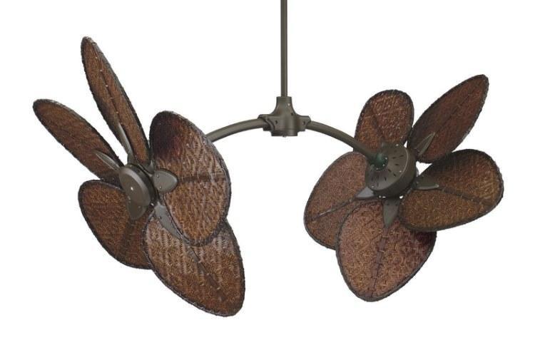 CASA BRUNO Caruso Ventilador de techo, bronce antiguo