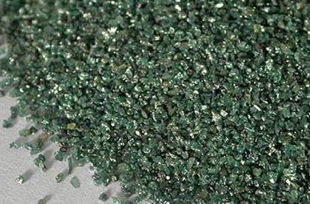 Granallas y abrasivos - Alúmina-SiC - Abrasivos Carburo de Silicio Verde