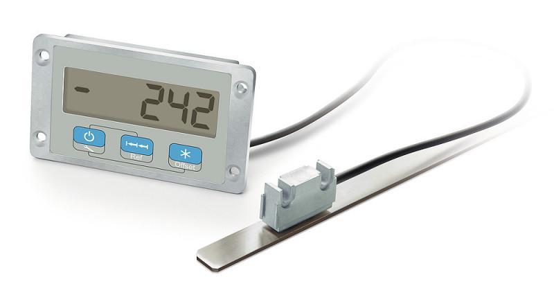 测量显示器 MA508/1 - 测量显示器 MA508/1, 准绝对值,独立电源 LCD 显示屏,坚固金属外壳