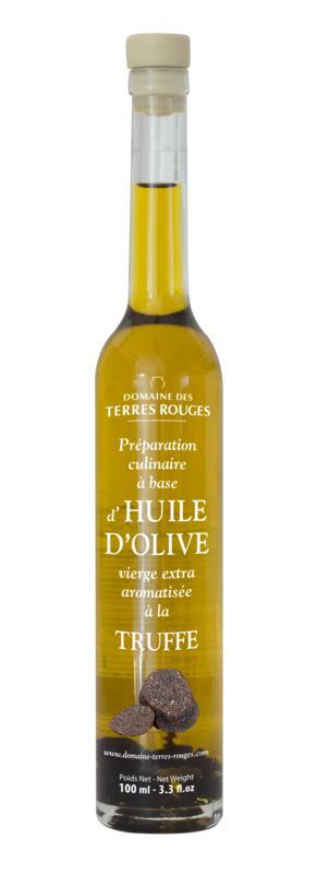 Huile d'Olive à la Truffe 10cl - DOMAINE DES TERRES ROUGES