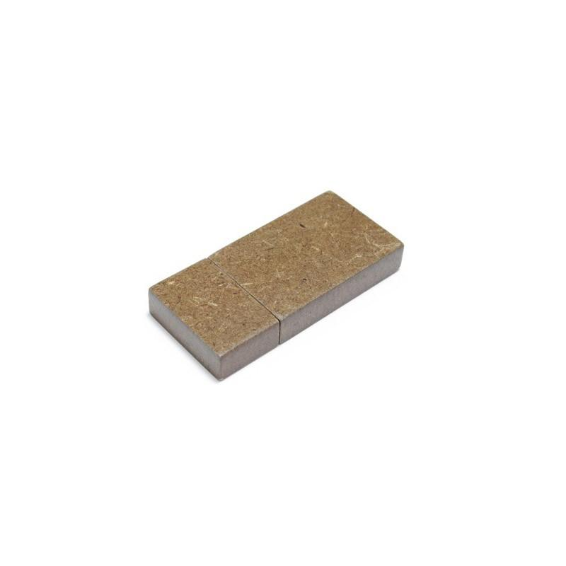 Cle USB Bois Recyclé Foncé - Clé USB Bois & Biodégradable