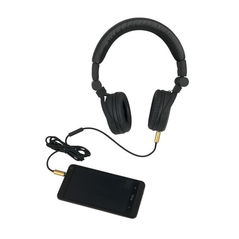 DJ-Kopfhörer - Omnitronic SHP-i3 Stereo-Kopfhörer schwarz