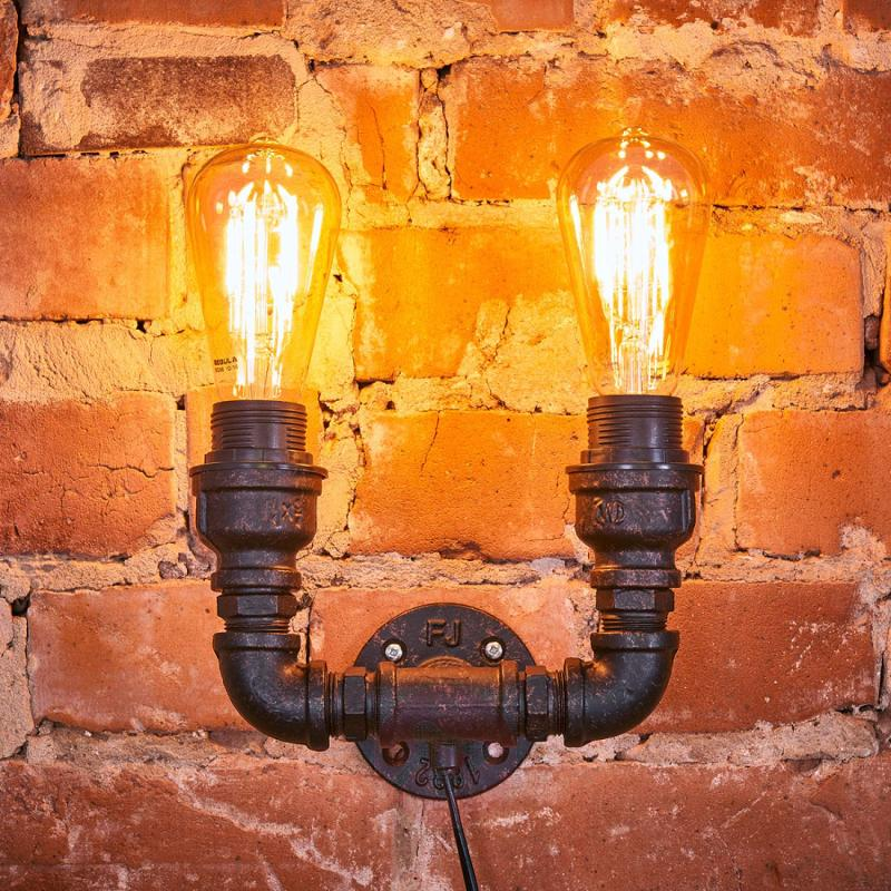 Original Tap wall light with a vintage look - indoor-lighting