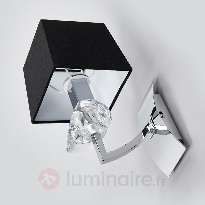 Applique AKIRA pleine de style à 1 lampe - Appliques chromées/nickel/inox