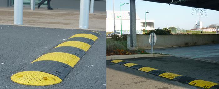 Signalisation caoutchouc & parking - Ralentisseurs - null