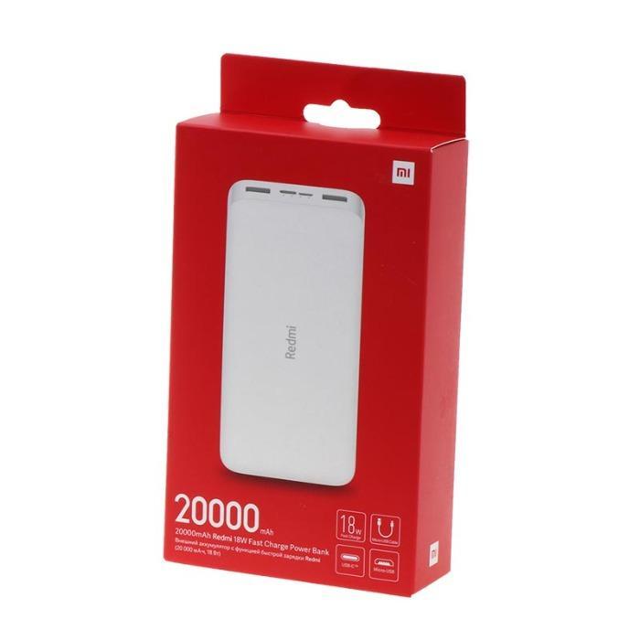 Powerbank van Xiaomi - Xiaomi Powerbank VXN4285GL Redmi 20000 wit