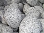 Galets - galet granit 100/200 : gros galet en granit blanc