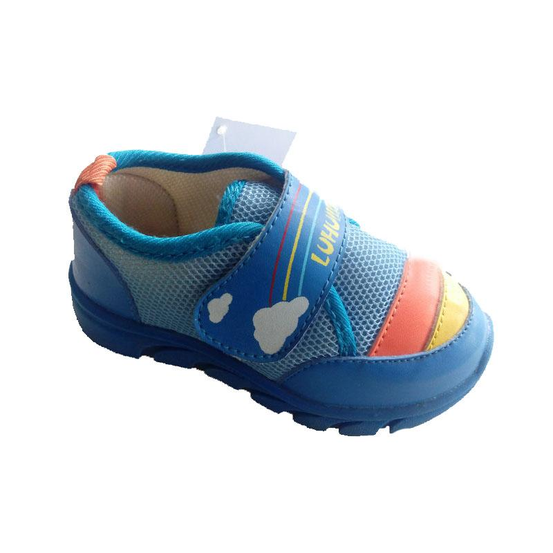 Hot sell Child sneakers soft  sportcasual shoes - Child blue casual shoes