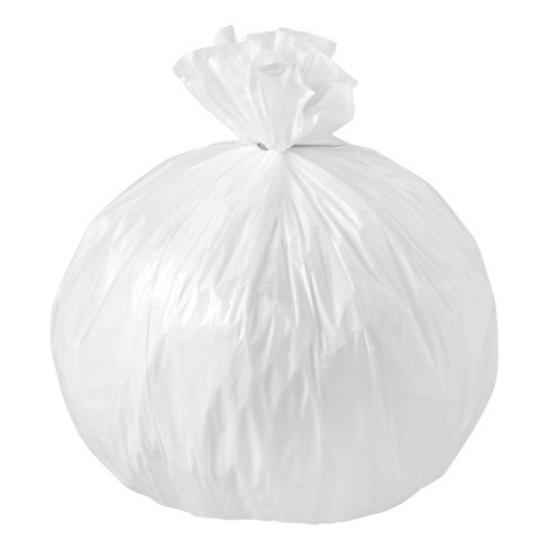 Sac poubelle blanc haute densité 20L 13µ rouleau de 50... - Equipement des locaux