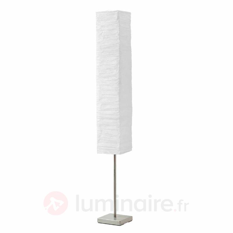 Lampadaire pratique Nerva blanc - Tous les lampadaires