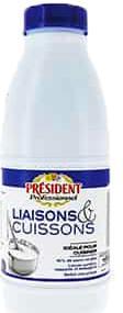 CREME LIQUIDE PRESIDENT LIAISON CUISSON 1L - null