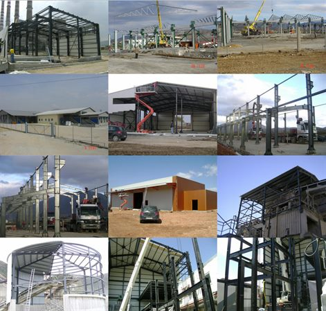 Metal Constructions lightweigh and Heavy