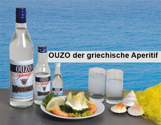 OUZO – der griechische Aperitif