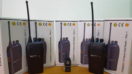 Distribuidor Oficial Para Portugal dos Rádios ATEX TPRadio