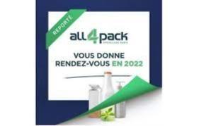 All4Pack à Paris – Report to 2022