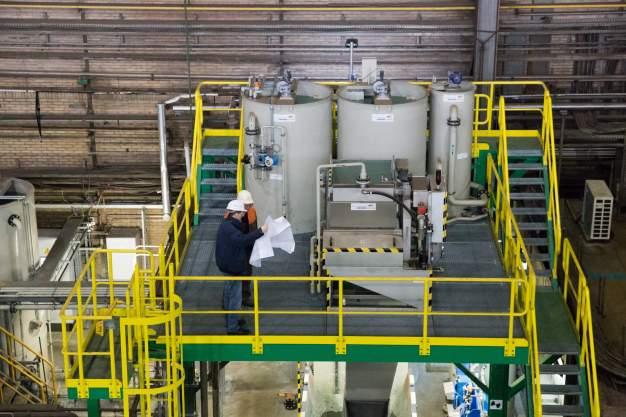 Sichere Abwasserbehandlung bei Tata Steel Europe