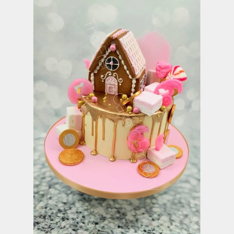 "Gâteau de Noël "" La Vie en Rose"""