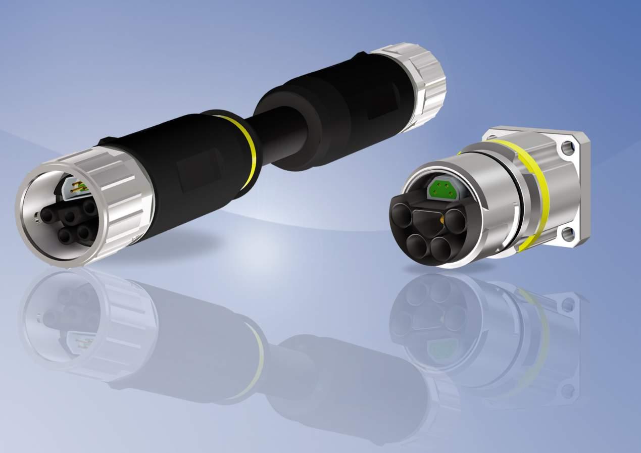 CONEC SuperCon® intelligente Hybridsteckverbindertechnologie