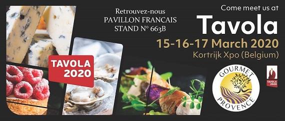 Salon Professionel Tavola à Courtrai, Belgique