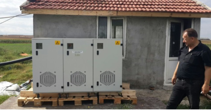I665 OUTDOOR PROTECTION VOLTAGE REGULATOR PROJE IS COMPLETED