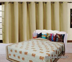 handmade kantha blanket, india kantha throw, hand stitched q