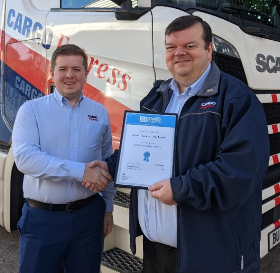 Cargo Express Have Achieved DVSA Earned Recognition!