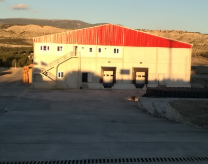 Manufacturing and Installation of the Cold Store with CA sys