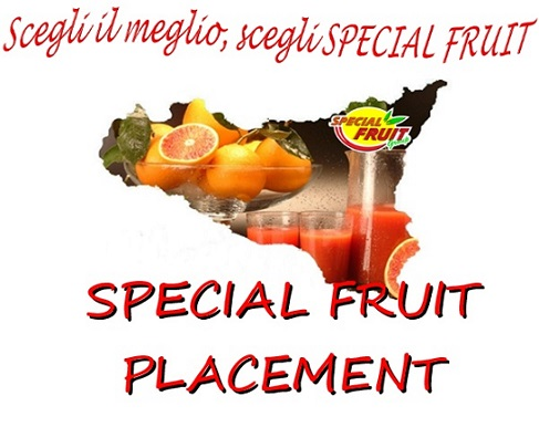 SPECIAL FRUIT PLACEMENT