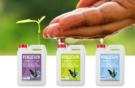 New Liquid Fertilizer 7-2-2 will ensure a good start of the