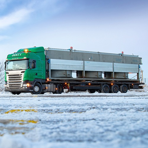 PROJECT TRANSPORTATION OF EQUIPMENT TO SERBIA