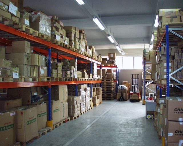 Spare parts warehouse featuring 4,000sm storage