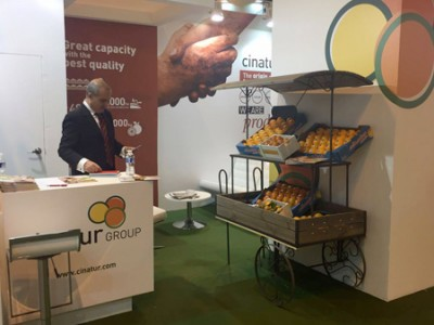 Cinatur presente en Fruit Attraction 2016