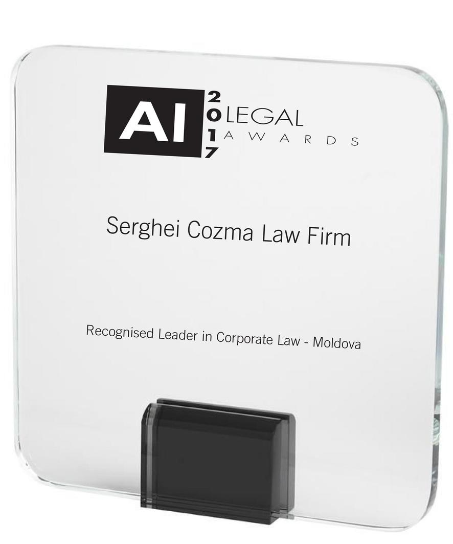 Leader in corporate law 2017