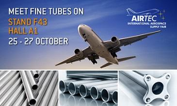 Aerospace tubing manufacturers exhibit at AIRTlEC