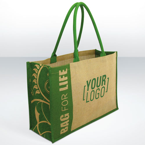Jute Shopping Promotional  Wholesale Bags