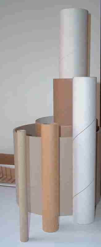 Small diameters paper tubes and cardboard cores