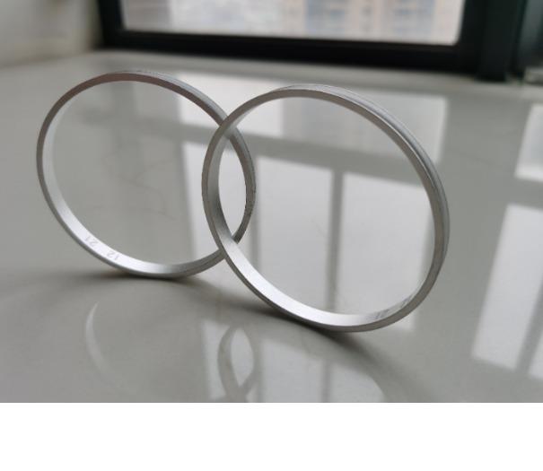 customized aluminium cnc machinining circle