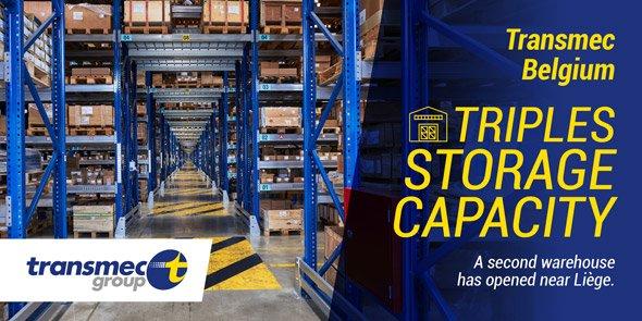 Transmec ouvre un deuxième entrepôt en Belgique